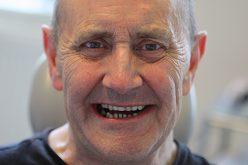 patient after dental implants